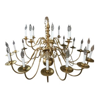 1970s Traditional Ballroom Chandelier For Sale