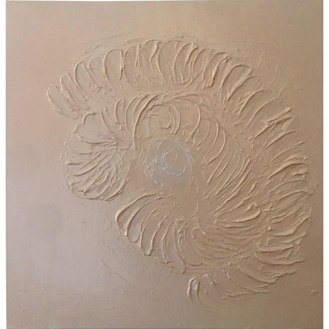 Abstract Painting, Nautilus For Sale