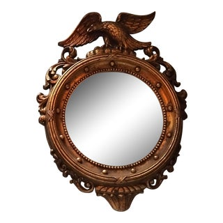 1950s Vintage Syroco Wood Federal Mirror For Sale