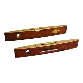 English J Rabone & Sons Levels, Set of 2 For Sale