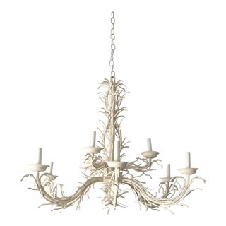 1970s Metal Coral Chandelier For Sale