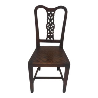 Early 20th Century Chinese Hall Chair For Sale