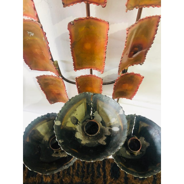 1970s Brutalist Mid Century Wall Sconces-A Pair For Sale In New York - Image 6 of 9