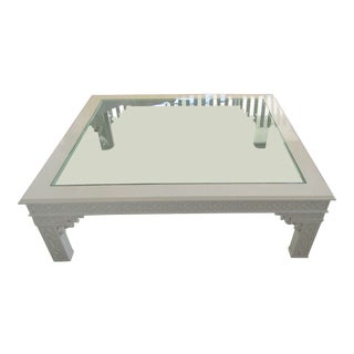 Ralph Lauren Chinese Chippendale Coffee Table For Sale