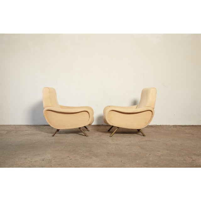 1960s Original Marco Zanuso Lady Chairs, Arflex, Italy, 1960s for Reupholstery For Sale - Image 5 of 10