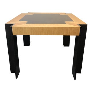 Mid-Century Pace Collection Exotic Wood Table