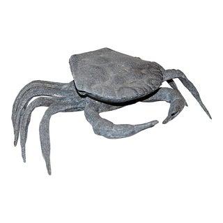 Metal Crab Ashtray