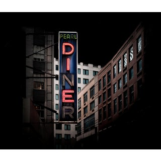"""""""Dienr - New York City"""" Contemporary Architectural Photograph For Sale"""