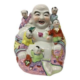 Vintage Porcelain Happy Buddha