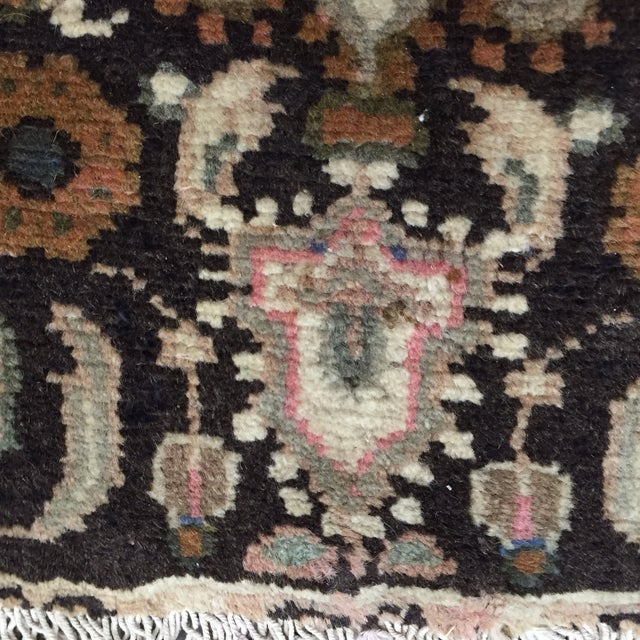 Hamadan Handmade Persian Rug - 1′6″ × 2′2″ - Image 7 of 9