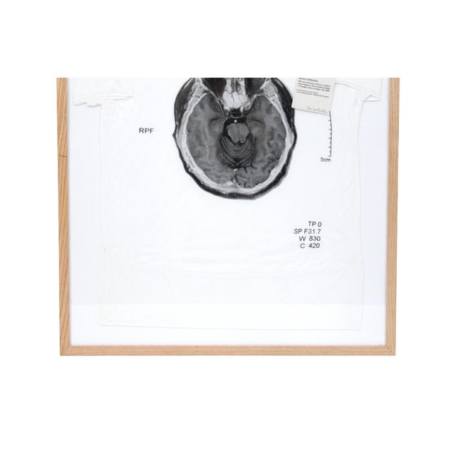 Contemporary Abstract Limited Edition Framed T Shirts by Ai Weiwei - a Pair For Sale - Image 4 of 13