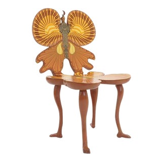 1980s Vintage Pedro Friedeberg Butterfly Chair For Sale