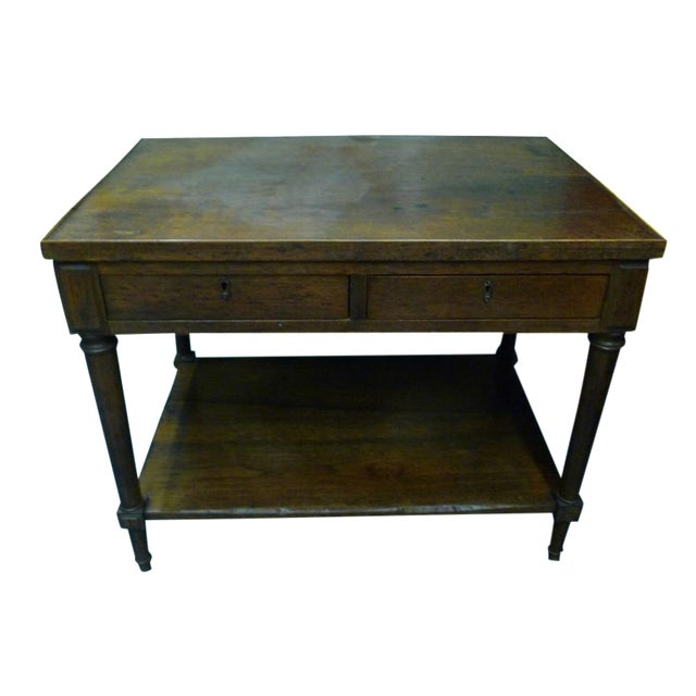 Antique French Mahogany Side Tables - Pair - Image 1 of 11