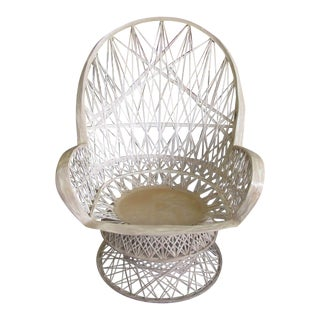 Russell Woodard Web Spun Patio Chair For Sale