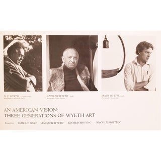 An American Vision - Three Generations of Wyeth Art Preview