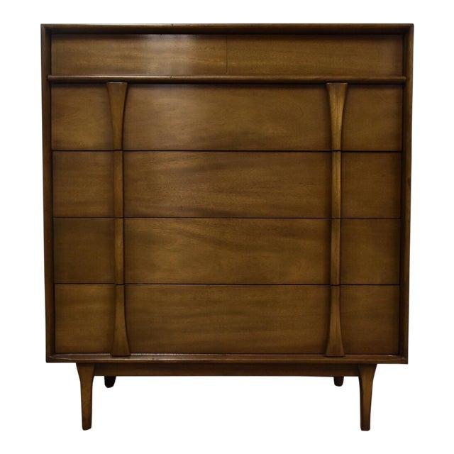 Albe Furniture Mid-Century Modern Tall Dresser For Sale