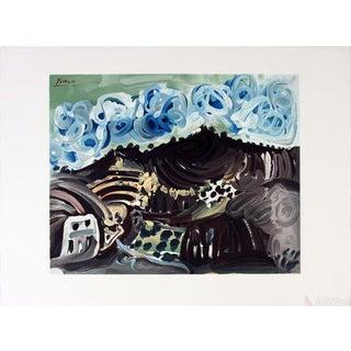 Pablo Picasso 'Vue Depuis l'Atelier De l'Artiste' Lithograph For Sale