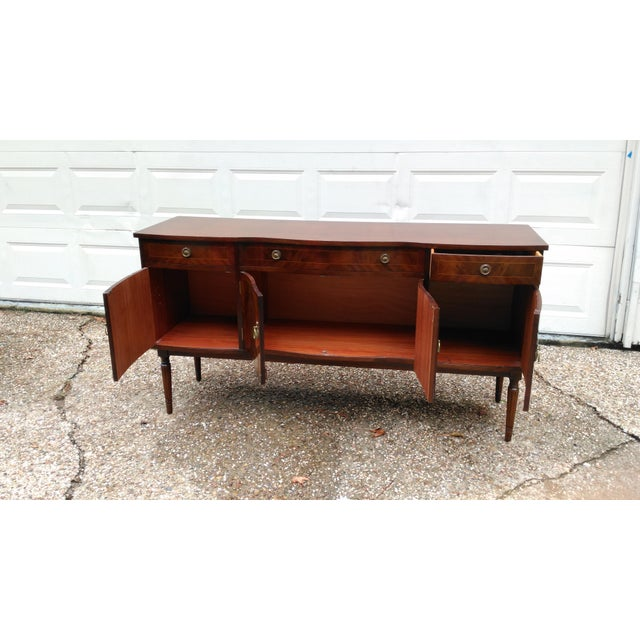 Vintage Strongbow Sideboard/Buffet For Sale - Image 9 of 11