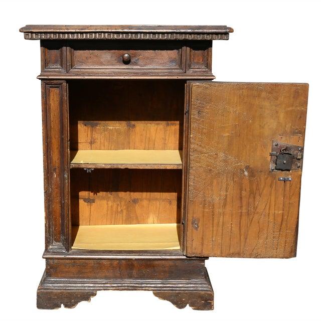 Italian Baroque Walnut Cabinet For Sale - Image 4 of 13