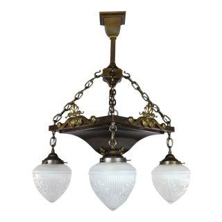 Edwardian/Arts & Crafts Light Fixture (4-Light)