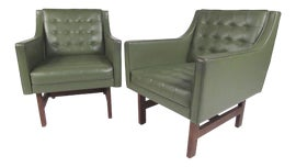 Image of Army Green Side Chairs