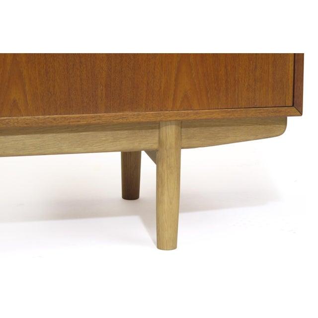 Wood Mid 20th Century Borge Mogensen Danish Teak Credenza For Sale - Image 7 of 9