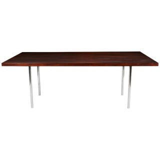 Rosewood Dining by Mies Van Der Rohe For Sale