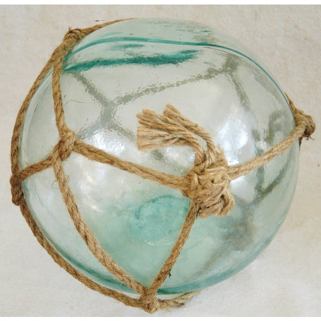 Hand-Blown Glass Fishing Floats - Set of 3 - Image 4 of 6