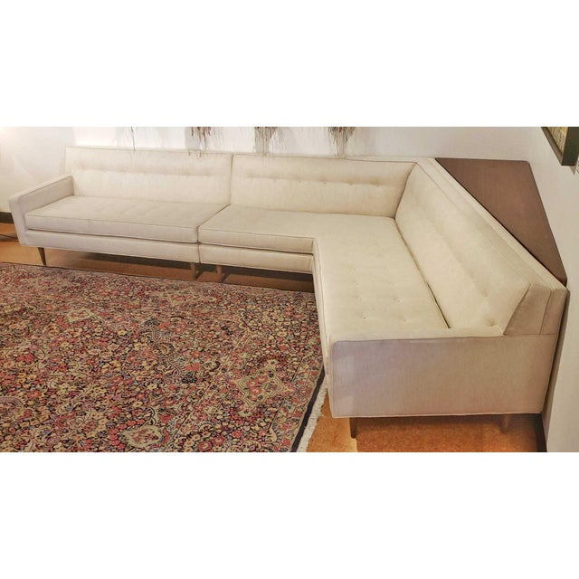 Mid-Century Modern Harvey Probber 'Nuclear Sert' Sectional Sofa and Console Table For Sale - Image 12 of 12