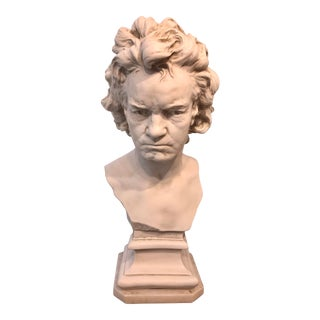 Plastic Bust of Beethoven For Sale