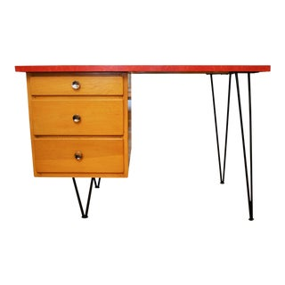 Mid Century Modern Student Desk For Sale