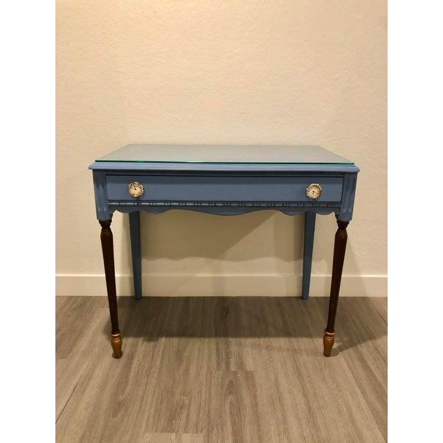 Antique Victorian Refurbished Writing Desk For Sale - Image 11 of 11