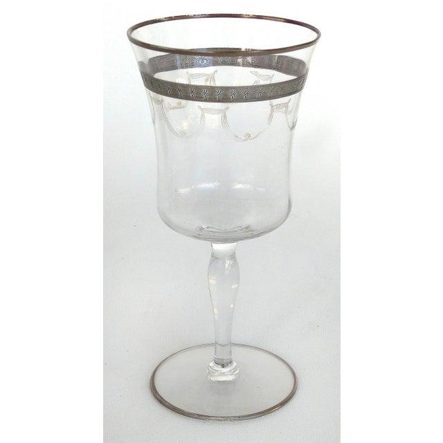 1930s-1940's Art Deco Stemware Glasses- Set of 28 For Sale - Image 4 of 10