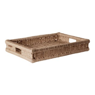 Rectangular Tray Flax For Sale