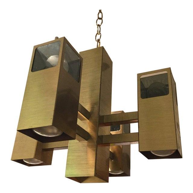 Robert Sonneman 9 Light Chandelier For Sale