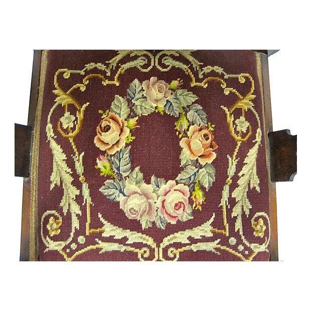 Inlaid Mahogany Armchair - Image 2 of 4