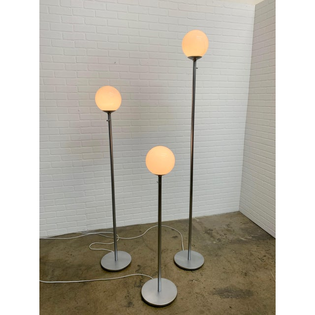 Vintage Globe Floor Lamps by ClassiCon - Set of 3 For Sale - Image 11 of 12