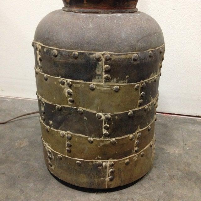 Vintage Chapman Brutalist Lamp For Sale - Image 11 of 11
