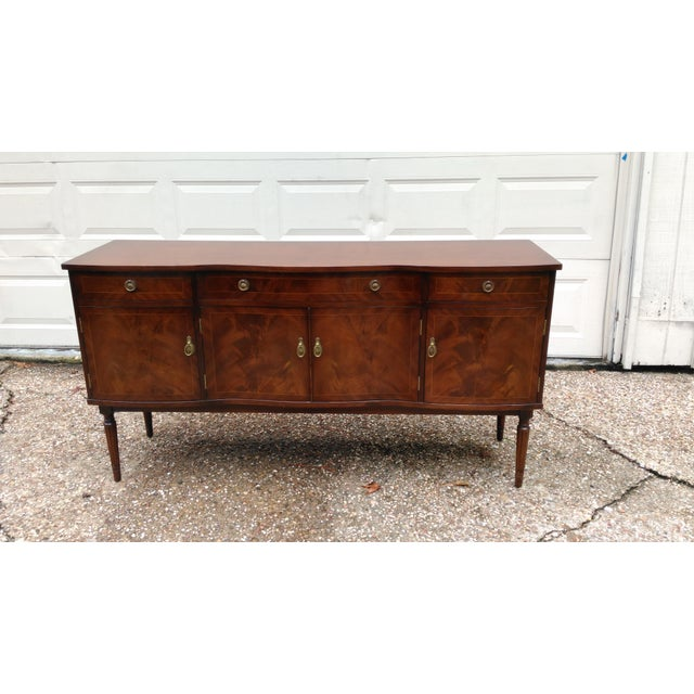 "Beautiful nice Strongbow buffet/sideboard cabinet in great condition. It measures approx 63"" x 18"" x 33"" tall. It in great..."