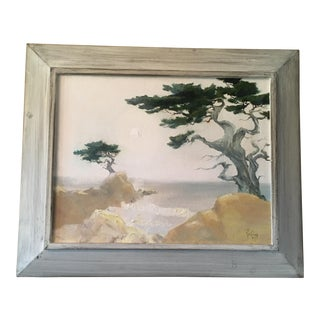 1960s Vintage Rollin Pickford Painting For Sale