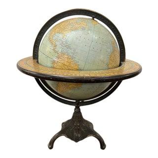 1920 Rand McNally Terrestrial Globe