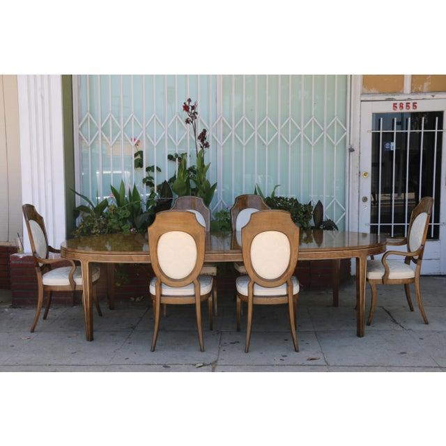 Mastercraft Burlwood Dining Set For Sale - Image 12 of 12