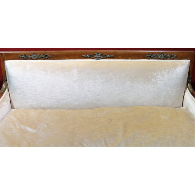 Regency Style Upholstered Sofa - Image 4 of 8