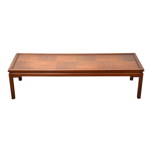Mid Century Walnut Coffee Table For Sale