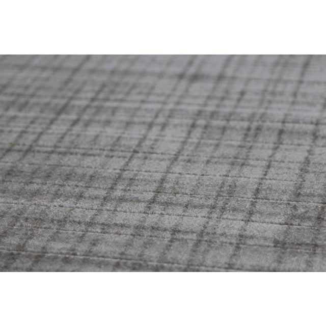 Gray Contemporary Rug - 3' x 10' - Image 3 of 4