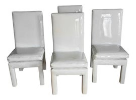 Image of Leather Dining Chairs