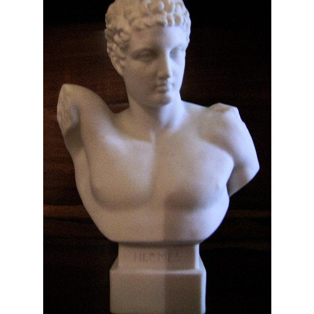 PRESENTING A LOVELY miniature Parian Ware Bust of Hermes from the late 19th Century….circa 1885. Probably British....