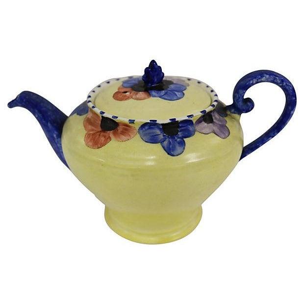 Vintage English Pansy Single Tea Set for One - Image 2 of 3