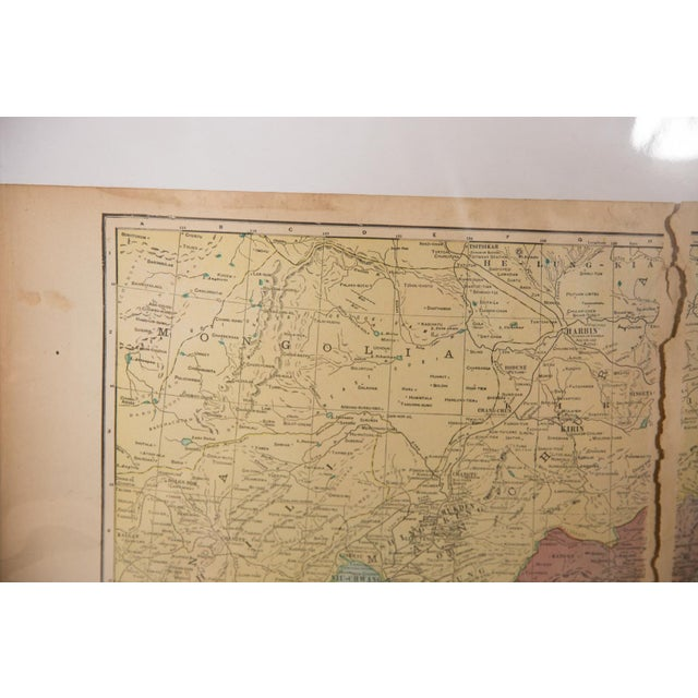 Paper Cram's 1907 Map of Korea For Sale - Image 7 of 8