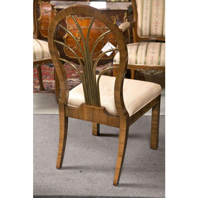 Mastercraft Art Deco Dining Chairs - Set of 6 For Sale - Image 5 of 10